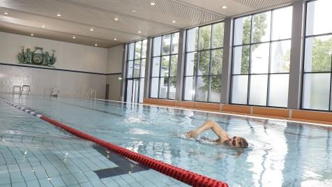 Schwimmer im Sandermare