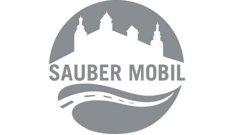 Logo Sauber Mobil Stadt Würzburg