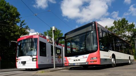 WVV Bus und Straßenbahn