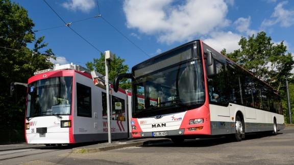 Bus und Straßenbahn Würzburg