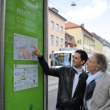 Mobilstation in Würzburg