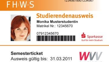 Studierendenausweis FH Würzburg