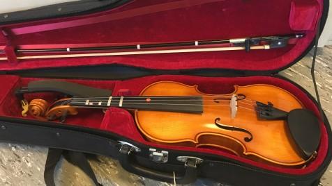 Gefundene Geige
