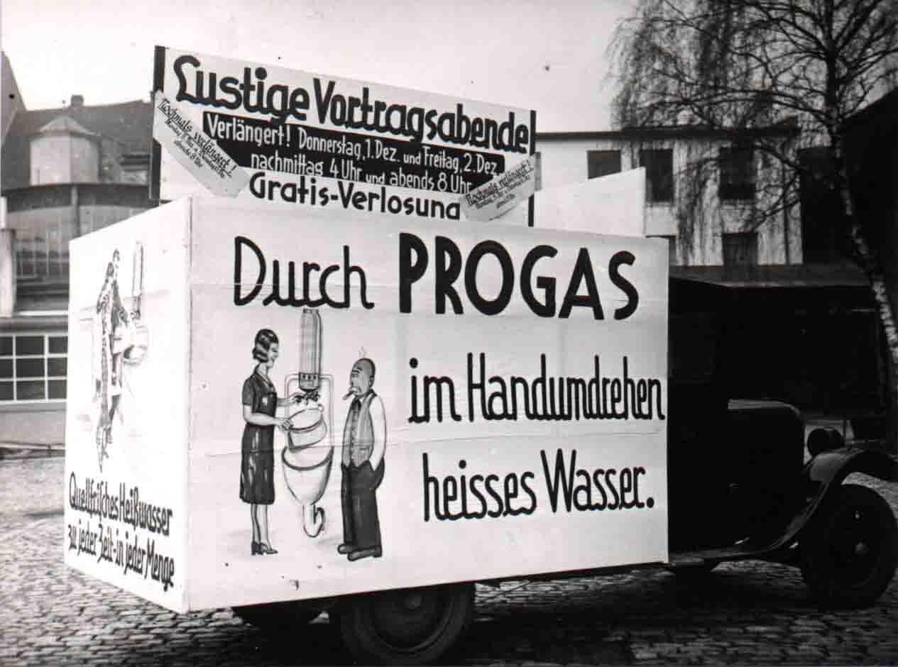 Gaswerbung